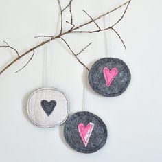 inspiration: heart ornaments