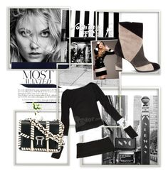 """""""most wanted"""" by jastil ❤ liked on Polyvore featuring Matisse, Proenza Schouler and black"""