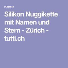 Silikon Nuggikette mit Namen und Stern - Zürich - tutti.ch Baby Kind, Baby Gifts, Sweet, Names, Stars, Candy, Gifts For Kids, Baby Presents