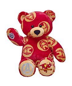 56b44ee550b Build-A-Bear Workshop-United Kingdom  41cm Iron Man Bear Teddy Bear