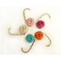 Gancho para Bolsa Bijoux Mix #flores #bijouxmix #bolsa