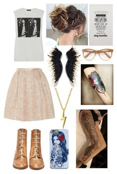 """Untitled #546"" by angelofadorability on Polyvore featuring Dolce&Gabbana, Bling Jewelry, Rochas and Wildfox"
