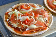 Udi's Gluten Free Veggie Pizza.