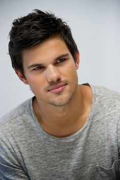 Taylor Lautner - Seriously nice abs!!! I would watch the Twilight series just for that brief look!