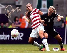 Alex Morgan Autographed 8x10 Photo Team USA PSA/DNA Stock #105963