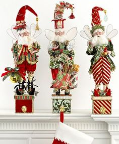 mark roberts christmas   Mark Roberts Christmas Decorations, Stocking Holders Collection ...