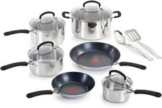 Gibson Home 8368307 Cuisine Select Chef Du Jour 7Piece Cookware Set True Red ** To view further for this item, visit the image link. I'm an affiliateof amazon, so and so  .