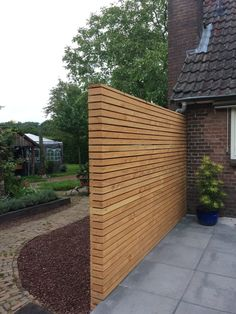 Modern addition to the We Landscape farm design garden, Vorden garden design, - You are in the right place for diy face mask Here we present diy crafts you are looking for w - Modern Garage, Modern Fence, Backyard Fences, Backyard Landscaping, Diy Fence, Fence Ideas, Architecture Model Making, Privacy Fence Designs, Outdoor Living