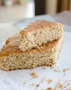 Torta especiada de harina integral