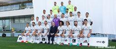 2016/17 Real Madrid team photo
