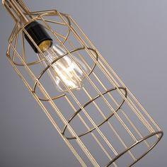Lámpara colgante FRAME Luxe D oro #deco #homedeco #interiorismo