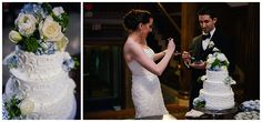 Toledo Club Wedding. Toledo Flowers by Bartz Viviano Flowers, Wedding cake, Eston's Wedding Cake