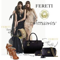 FERETI ACCESSORIES by fereti on Polyvore featuring mode