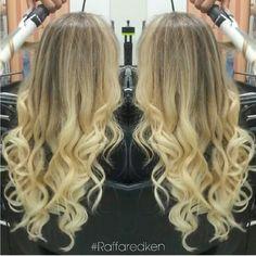 Loiro dos sonhos #raffaredken #redken #tratamento #hair #hairstyle #blond #blondhair #loirodossonhos #redken ##ondaspoderosas