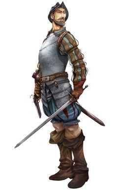 Illustration Of Spanish Conquistador Pedro De Alvarado Of