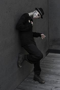 Rick Genest & Shaun Ross by Joachim Baldauf | Marvel | Homotography