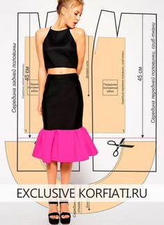 Skirt-with-frill-foto