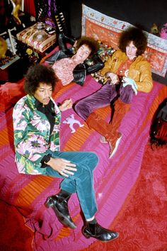"soundsof71: ""The Jimi Hendrix Experience """