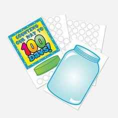 "Design Your Own ""100th Day Of School!"" Bulletin Board Set - OrientalTrading.com"