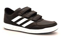 a7561a79c623 ADIDAS BA7459 CF K NERO BIANCO Strappi Sneakers Scarpe Ginnastica Palestra  Ragaz