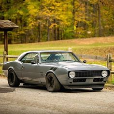 "@bullets.bikes.cars posted this dope photo of @mistertotem2 ""Stormy"" '67 Camaro  by musclekingz"