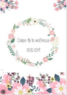 Cahier de la maîtresse (Année 2018-2019) - Maitress'Ellen