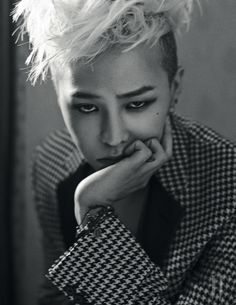 G-Dragon (지드래곤) for W - January 2014