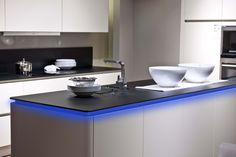 RGB-LED-Flexband 100cm LED-Stripes für indirekte Beleuchtung in der Küche in Farbe