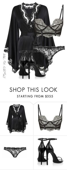"""""""Untitled #101"""" by toniannfratianni on Polyvore featuring Agent Provocateur, Yves Saint Laurent, women's clothing, women, female, woman, misses and juniors"""