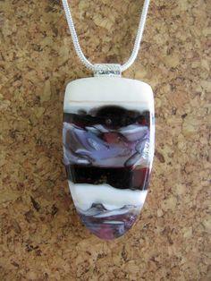 Free Shipping Cranberry Vanilla Thumb Nail by ArtGlassInspired