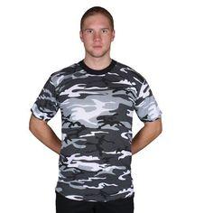 9d23ceffdeba7 Short Sleeve T-Shirt -64-19UC UC L Camo Tee Shirts