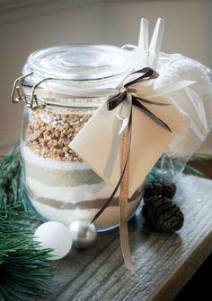 Вкусные подарки в банках: набор для шоколадных маффинов