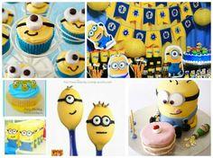 Vamos a organizar la mejor fiesta de los Minions con originales ideas de decoración, con sorpresas, globos, pastel, articulos, piñatas, juegos, animadoras