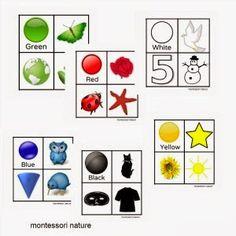Free Montessori Baby & Toddler Printable Materials. - Montessori Nature