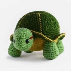 Orion the turtle amigurumi pattern by Bluephone Studios