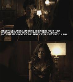 Damon Quotes Vampire Diaries | damon the vampire diaries tv show 27907539 500 563 large damon♥ The ...