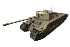 This paper model is a (TOG II), a prototype British tank design produced in the early part of the Second World War in case the battlefields of norther