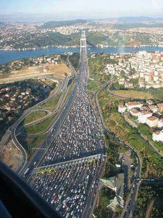 Istanbul - TRAFFIC - TRAFFIC - TRAFFIC... : (