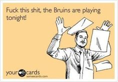 Bruins over everything