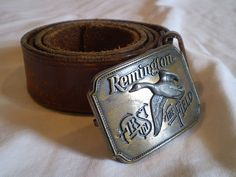 Vintage Remington Belt by jclairep on Etsy, $30.00