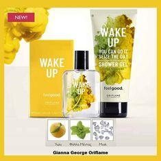 €20,80 €9,20  Αφροντούζ και αρώματα  που με τη δύναμη της αρωματοποϊας ενισχύουν την συναισθηματική σας διάθεση. Εκρήγνυται  αναζωογονητικά αρώματα του Yuzu , των Φύλλων Μέντας κι αιθέρια έλαια. Αισθάνεστε ξύπνια κι έτοιμη για όλα.  Περιλαμβάνει:  Γυναικείο Άρωμα Wake Up Feel Good EdT-37213 Αφροντούς Wake Up Feel Good-35991 Oriflame Beauty Products, Shower Gel, You Can Do, Wake Up, Feel Good, Feelings, Feeling Great Quotes, Body Wash