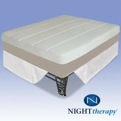 "Night Therapy 14"" Grand Memory Foam Mattress Complete Set - King by Night Therapy. $912.31. Border 2: Quilted Poly Jacquard (Tan) w Fiber Padding. Core: A. 2.5"" Memory Foam  B. 3.75"" Super Soft Foam (Pressure Relief)  C. 3.25"" HD (1"" Conv.)  D. 3.5"" HD (1"" Conv.). SmartBase Steel Bed Frame with Brackets & Bed Skirt. Top :  Quilted Bamboo Poly Jacquard ( Beige) + Fire Barrier  +  1''MF +Non-Woven. Border 1: Quilted Bamboo Poly Jacquard ( Beige)  w Fiber Padding. ..."