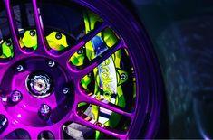 Car Volkswagen, Rims For Cars, Nike Wallpaper, Brake Calipers, Go Kart, Wrx, Powder Coating, Car Stuff, Cars And Motorcycles