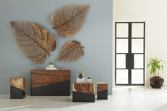 Buy Birch Leaf Wall Art, Copper by Phillips Collection - Made-to-Order designer Accessories from Dering Hall's collection of Contemporary Transitional Organic Art.And the Winners Are. Leaf Wall Art, Large Wall Art, Decor Market, World Decor, Wall Decor Design, Phillips Collection, Home Room Design, Wall Sculptures, Decoration