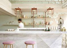 Elegant and Unique Shugaa Bar - InteriorZine
