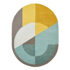 ZJX-F Nordic Creative Geometric Rug Thicken Encryption Edge Wear-Resistant Living Room Area Rugs Sofa Side Table Bedroom Decoration Carpet (Size : Carpet Size, Geometric Rug, Geometric Patterns, Oval Rugs, Tapis Design, Living Room Area Rugs, Cow Hide Rug, Modern Area Rugs, 3d Max