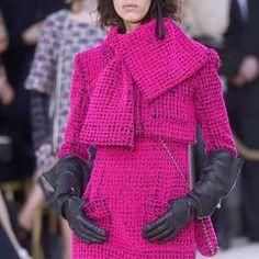Détail défilé Chanel automne-hiver 2016-2017, Paris - Détail 2.