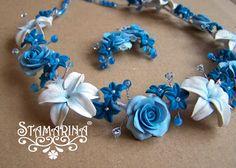 Stamarina creations.. gorgeous polymer flowers http://stamarinablog.blogspot.ca/?m=1