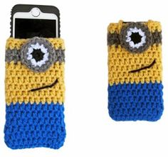Despicable Me Minion iPhone Cozy - Free Crochet Pattern