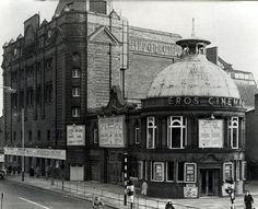 Eros Cinema in Catford - previously the Lewisham Hippodrome - demolished to build a brutalist office block South London, Old London, Old Pictures, Old Photos, Strange History, History Facts, Local History, British History, London Architecture